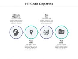 HR Goals Objectives Ppt Powerpoint Presentation Infographics Design Ideas Cpb
