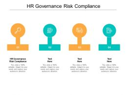 HR Governance Risk Compliance Ppt Powerpoint Presentation Styles Design Inspiration Cpb