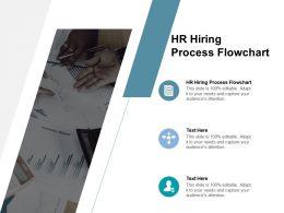 HR Hiring Process Flowchart Ppt Powerpoint Presentation Portfolio Styles Cpb
