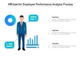 HR Icon For Employee Performance Analysis Process