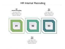 HR Internal Recruiting Ppt Powerpoint Presentation Model Graphic Tips Cpb