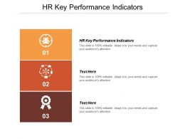HR Key Performance Indicators Ppt Powerpoint Presentation Ideas Influencers Cpb