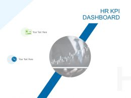 HR KPI Dashboard Ppt Powerpoint Presentation Ideas Graphic Images