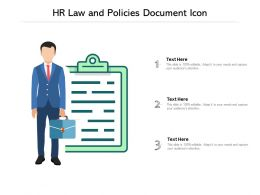 HR Law And Policies Document Icon