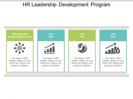 HR Leadership Development Program Ppt Powerpoint Presentation File Topics Cpb