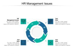 HR Management Issues Ppt Powerpoint Presentation Model Ideas Cpb