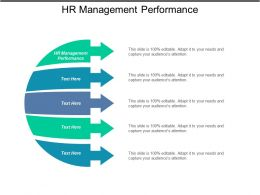 HR Management Performance Ppt Powerpoint Presentation Gallery Ideas Cpb