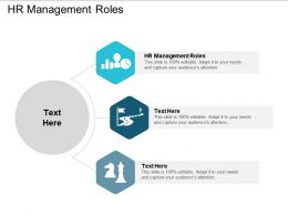 HR Management Roles Ppt Powerpoint Presentation Gallery Guidelines Cpb