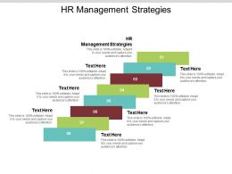HR Management Strategies Ppt Powerpoint Presentation File Brochure Cpb