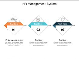 HR Management System Ppt Powerpoint Presentation Pictures Good Cpb