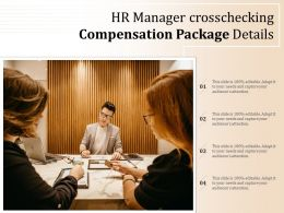 HR Manager Crosschecking Compensation Package Details