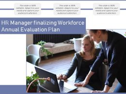 HR Manager Finalizing Workforce Annual Evaluation Plan