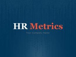 HR Metrics Capability Strategy Process Data Collection Compensation Goals And Objectives