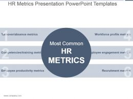 Hr Metrics Presentation Powerpoint Templates
