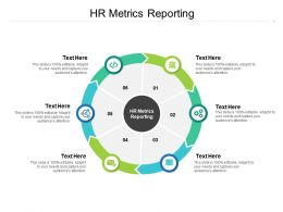 HR Metrics Reporting Ppt Powerpoint Presentation Model Graphics Template Cpb