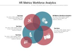 HR Metrics Workforce Analytics Ppt Powerpoint Presentation Professional Sample Cpb