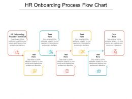 HR Onboarding Process Flow Chart Ppt Powerpoint Presentation Inspiration Graphics Example Cpb