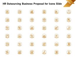 HR Outsourcing Business Proposal For Icons Slide Ppt Powerpoint Presentation Professional