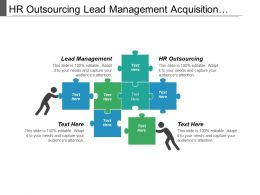 Hr Outsourcing Lead Management Acquisition Strategy Organization Structure Cpb