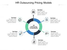 HR Outsourcing Pricing Models Ppt Powerpoint Presentation Professional Portfolio Cpb