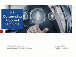 HR Outsourcing Proposal Template Powerpoint Presentation Slides