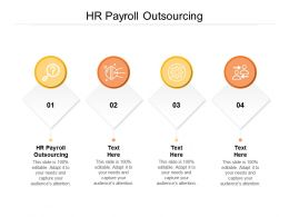 HR Payroll Outsourcing Ppt Powerpoint Presentation Gallery Elements Cpb