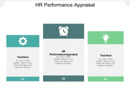 HR Performance Appraisal Ppt Powerpoint Presentation Gallery Background Images Cpb