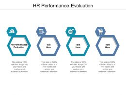 HR Performance Evaluation Ppt Powerpoint Presentation Outline Shapes Cpb