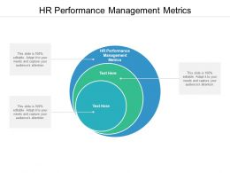HR Performance Management Metrics Ppt Powerpoint Presentation Layouts Slide Download Cpb