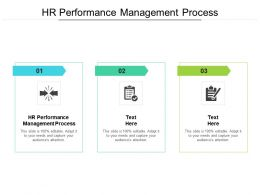 HR Performance Management Process Ppt Powerpoint Presentation Styles Structure Cpb