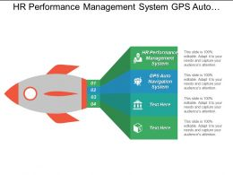 Hr Performance Management System Gps Auto Navigation System Cpb