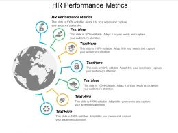 HR Performance Metrics Ppt Powerpoint Presentation Infographics Design Ideas Cpb