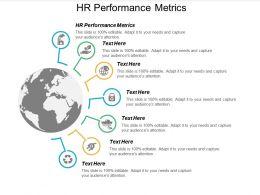 HR Performance Metrics Ppt Powerpoint Presentation Infographics Design Ideas Cpb