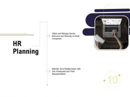 Hr Planning Business Process Analysis Ppt Inspiration