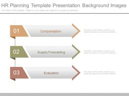 Hr Planning Template Presentation Background Images