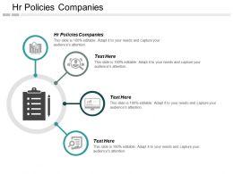 Hr Policies Companies Ppt Powerpoint Presentation Inspiration Deck Cpb