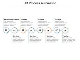 HR Process Automation Ppt Powerpoint Presentation Professional Infographic Template Cpb