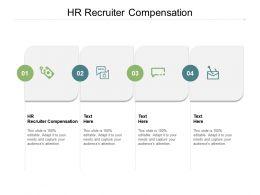 HR Recruiter Compensation Ppt Powerpoint Presentation Portfolio Files Cpb