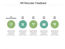 HR Recruiter Feedback Ppt Powerpoint Presentation Pictures Layout Cpb