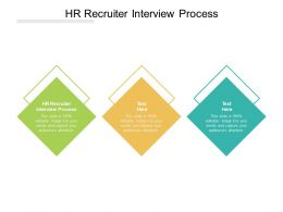 HR Recruiter Interview Process Ppt Powerpoint Presentation Outline Graphic Images Cpb