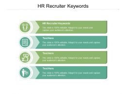 HR Recruiter Keywords Ppt Powerpoint Presentation Slides Portrait Cpb