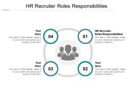 HR Recruiter Roles Responsibilities Ppt Powerpoint Presentation Icon Styles Cpb