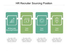 HR Recruiter Sourcing Position Ppt Powerpoint Presentation Gallery Show Cpb