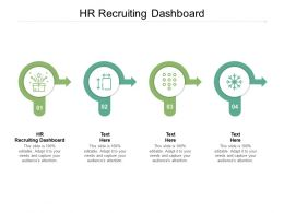 HR Recruiting Dashboard Ppt Powerpoint Presentation Example 2015 Cpb