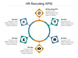HR Recruiting KPIS Ppt Powerpoint Presentation Gallery Background Images Cpb