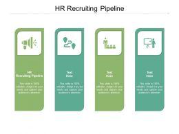 HR Recruiting Pipeline Ppt Powerpoint Presentation Summary Slideshow Cpb
