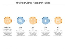 HR Recruiting Research Skills Ppt Powerpoint Presentation Icon Portrait Cpb