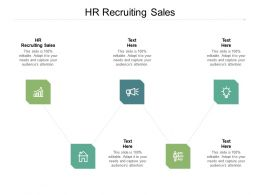 HR Recruiting Sales Ppt Powerpoint Presentation Styles Show Cpb