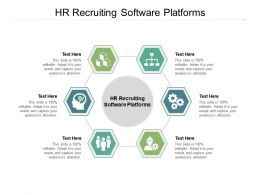 HR Recruiting Software Platforms Ppt Powerpoint Presentation Show Gallery Cpb