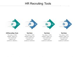 HR Recruiting Tools Ppt Powerpoint Presentation File Slideshow Cpb